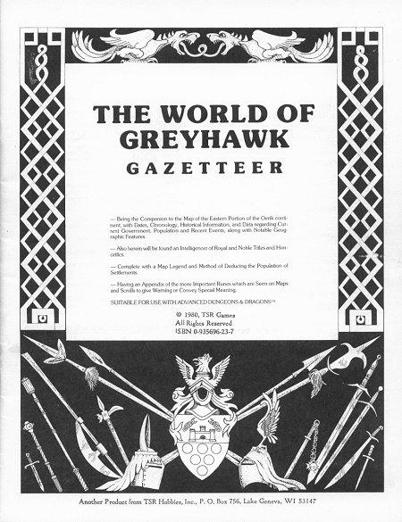 grodog runs Greyhawk